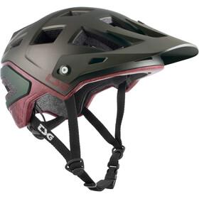 TSG Scope Special Makeup Helm grau/rot